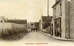 95 - GRISY SUISNES - Restaurant Robert. - France