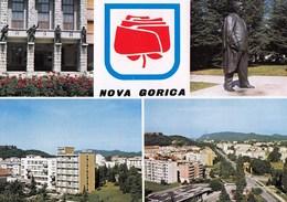 Slovenia Nova Gorica / Panorama, Monument, Rose / Unused, Uncirculated - Slovenia