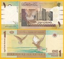 Sudan 1 Pound P-64 2006 UNC - Sudan