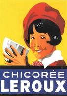 Publicité Chicorée Leroux (2 Scans) - Reclame