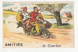 COURLON - AMITIES DE COURLON - 89 - Other Municipalities