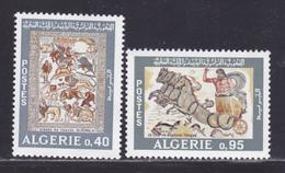 ALGERIE N°  479 & 480 ** MNH Neufs Sans Charnière, TB (D8787) Mosaïque De L'époque Romaine - 1968 - Algerien (1962-...)