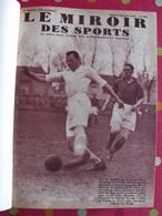 Reliure Recueil Le Miroir Des Sports 1937. 59 Numéros (925 à 983). Tour De France Football Rugby Tennis Boxe - 1900 - 1949