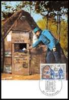 2549/ Carte Maximum (card) France N°1671 Journée Du Timbre. La Poste Aux Armées Courbevoie - Cartes-Maximum