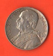 10 Lire 1931 Papa Pio XI Città Del Vaticano Vatikan State Anno X° - Vaticano