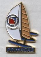 Pin's Bateau Navire Voilier Primagaz - Boats