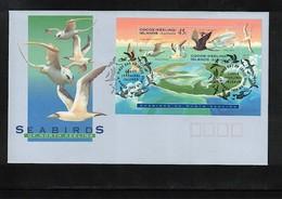 Cocos (Keeling) Islands 1995 Sea Birds Set FDC - Kokosinseln (Keeling Islands)