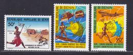 BENIN N°  434 à 436 ** MNH Neufs Sans Charnière, TB (D8789) Centenaire De L' U.P.U. - 1978 - Benin - Dahomey (1960-...)