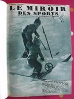 Reliure Recueil Le Miroir Des Sports 1935. 60 Numéros (805 à 864). Tour De France Football Rugby Tennis Boxe - Books, Magazines, Comics