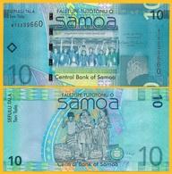 Samoa 10 Tala P-39a 2008 UNC - Samoa
