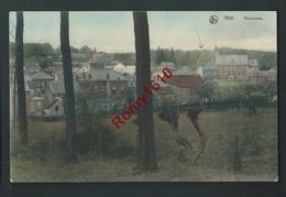 Ittre. Panorama En Couleur.  Edit. Marlière. 1909. 2 Scans. - Lasne