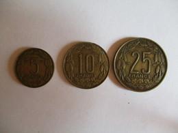 Cameroon: 5, 10 & 25 CFA 1958 - Cameroun