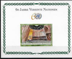 2005 UNO Wien Mi. Bl. 19 **MNH 60 Jahre Vereinte Nationen (UNO) - Ungebraucht