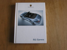 PORSCHE  911 Carrera Catalogue Concessionnaire Agence Automobile Allemagne Voiture Car Cars Auto - Auto