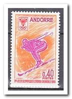 Frans Andorra 1968, Postfris MNH, Olympic Winter Games - Ongebruikt