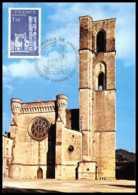 3222/ Carte Maximum (card) France N°1902 Cathédrale De Lodève - Maximum Cards