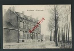 L'Ecluse - (Beauvechain ) Les Ecoles. Voyagée En 1923.  2 Scans - Beauvechain