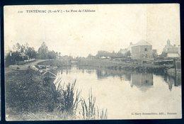 Cpa Du 35 Tinteniac  -- Le Pont De L' Abbesse    ACH14 - France
