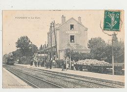 21 VOUGEOT LA GARE CPA BON ETAT - Stations With Trains