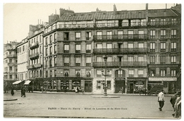 75 : PARIS 9eme - PLACE DU HAVRE - HOTEL DE LONDRES ET DE NEW-YORK - Cafés, Hôtels, Restaurants