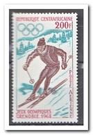 Centraal Afrika 1968, Postfris MNH, Olympic Winter Games - Centraal-Afrikaanse Republiek