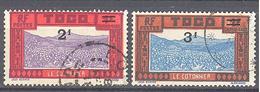 Togo: Yvert N° Taxe 20/21°;  La Serie Courante, Rarement Proposé - Togo (1914-1960)