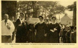 29 - SAINT GOAZEC - La Procession - Les Femmes Mariées Portent La Statue Ste Anne - France