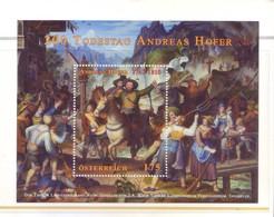 Austria 2010 - Quadro Di Joseph Anton Koch, BF MNH** - 2001-10 Unused Stamps