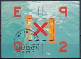 SUIZA 2002 Nº HB-32 USADO PRIMER DIA - Bloques & Hojas