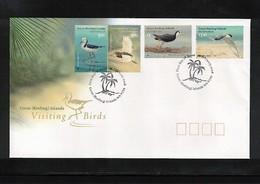 Cocos (Keeling) Islands 2008 Birds FDC - Albatrosse & Sturmvögel