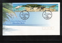 Cocos (Keeling) Islands 2003 Birds FDC - Albatrosse & Sturmvögel