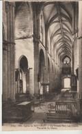 C.P.A. - EGLISE DE SOUVIGNY - LA GRANDE NEF - LES ORGUES - VUE PRISE DU CHŒUR - 689 - - France
