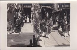Indochine Tonkin Chine Carte Photo Ceremonie Officiel Representant Français Peut Etre Sur Un Comptoir ? - Chine