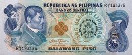 Philippines 2 Piso, P-166 (1981) - UNC - Pope John Paul II Banknote - Philippinen