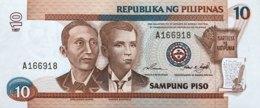Philippines 10 Piso, P-187a (1997) - UNC - Philippinen