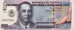 Philippines 100 Piso, P-213A (2012) - UNC - 100 Years Grand Lodge Freemason Banknote - Philippinen