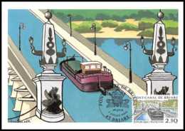 4546/ Carte Maximum (card) France N°2658 Pont-canal De Briare - Maximum Cards