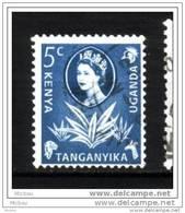 Kenya-Uganda-Tanganyika, Plante Grasse, Reine élizabeth II, Gifare, , Queen Elizabeth II, Giraffe - Flora