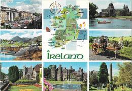 IRELAND - IRLANDE - Carte Géographique - Irlande