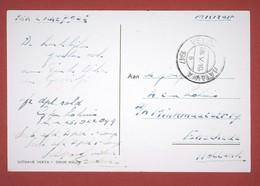 """Zichtkaart Militaire Post: """" Veldpost Batavia 1947"""" Naar Enschede 2 Scan - Niederländisch-Indien"""