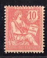 Mouchon N° 124 Neuf * Gomme D'Origine  TTB - France