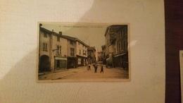 B4/CHAZAY-D'AZERGUES- Place Du Marché  (montreur D'ours)-carte Colorisee - France