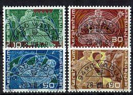 Liechtenstein 1969 // Mi. 508/511 O - Liechtenstein
