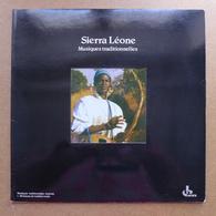 LP/ Sierra Léone - Musiques Traditionnelles  / 1979 - Ocora - Pressage France - World Music