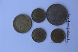 Lot De 5 Monnaies Reinier III  ( 81 ) - Monaco