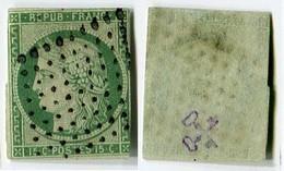 France Classique, N°2 Oblitéré, Qualité Standard+ - 1849-1850 Cérès