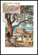 5503/ Carte Maximum (card) Monaco N°941 Traditions Monégasques Brandi. Danse Locale - Cartes-Maximum (CM)