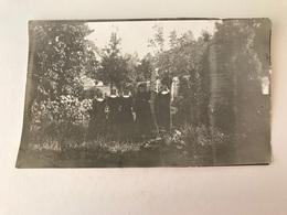 Brussegem  Merchtem  FOTO Genomen Door Duitse Soldaten  Pastoor Met Kloosterlingen Augustus 1914 - Merchtem