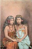 93Sv   Tahiti Jeunes Tahitiennes Young Tahitian Girls - Tahiti