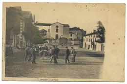 64-JHOLDY-La Place - Jeu De Quilles... Animé  (petites Taches) - Autres Communes